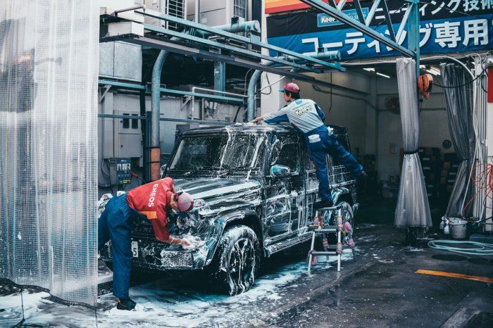 洗車の種類と手段とは