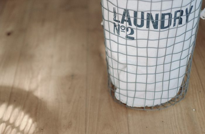 洗濯物を畳まない