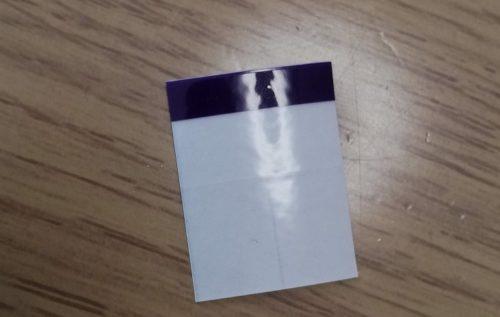 紫外線カットシール