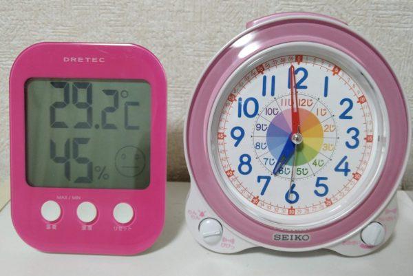湿度測定1時間後