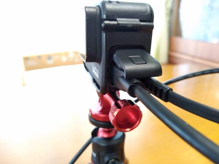 GoPro接続